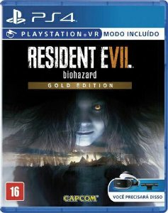 RESIDENT EVIL 7 GOLD EDITION PS4 BR