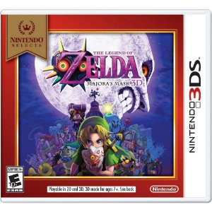 THE LEGEND OF ZELDA MAJORAS MASK 3DS USADO