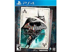 BATMAN RETURN TO ARKHAM PS4 USADO