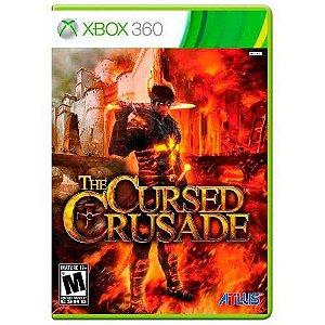CURSED CRUSADE X360 USADO