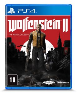 WOLFENSTEIN THE NEW COLOSSUS PS4 USADO
