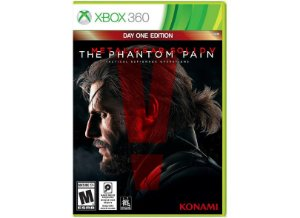 METAL GEAR SOLID V THE PHANTOM PAIN XBOX 360 USADO