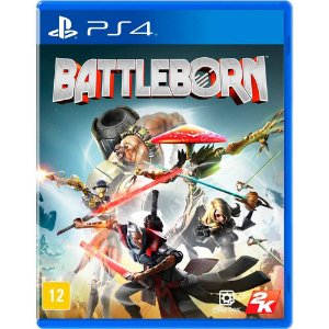BATTLEBORN - BLU-RAY - PS4