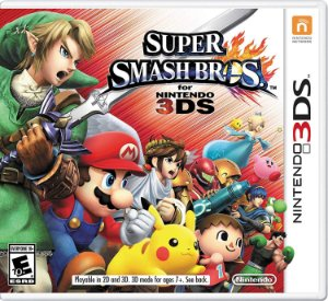 SUPER SMASH BROS 3DS USADO
