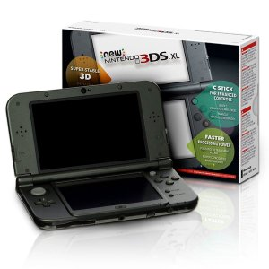 NEW NINTENDO 3DS XL PRETO USADO
