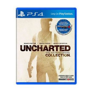 UNCHARTED THE NATHAN DRAKE COLLECTION PS4 USADO