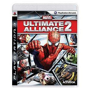 MARVEL ULTIMATE ALLIANCE 2 PS3 USADO