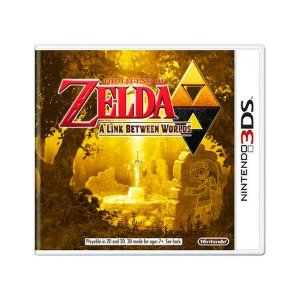 THE LEGEND OF ZELDA A LINK BETWEEN WORLDS 3DS USADO