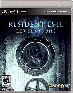 RESIDENT EVIL REVELATIONS PS3 USADO