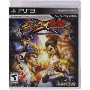 STREET FIGHTER VS TEKKEN PS3 USADO