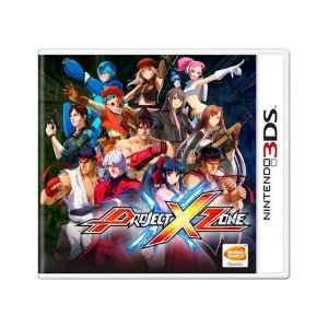 PROJECT X ZONE 3DS USADO