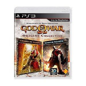 GOD OF WAR ORIGINS COLLECTION PS3 USADO