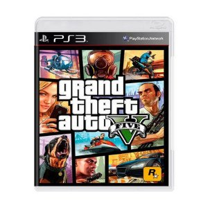 GTA 5 PS3 USADO