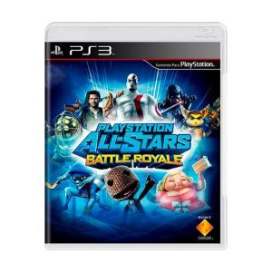 PLAYSTATION ALL-STAR BATTLE ROYALE  PS3 USADO