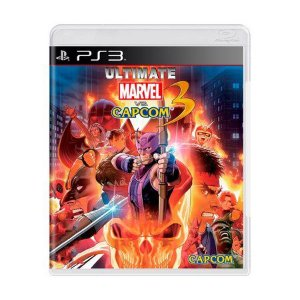 ULTIMATE MARVEL VS CAPCOM 3 PS3 USADO