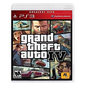 GTA IV PS3 USADO