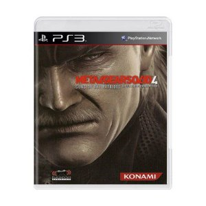 METAL GEAR SOLID 4 GUNS OF THE PATRIOTS PS3 USADO