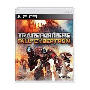 TRANSFORMERS FALL OF CYBERTRON PS3 USADO