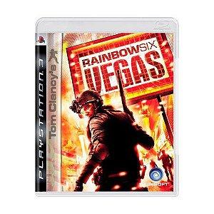 TOM CLANCY'S RAINBOW SIX VEGAS PS3 USADO
