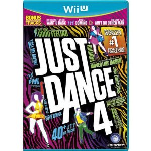 JUST DANCE 4 WII U USADO
