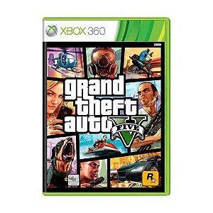 GTA 5 XBOX 360 USADO