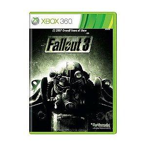 FALLOUT 3 XBOX 360 USADO