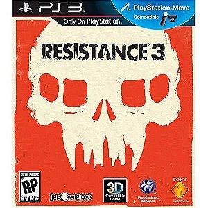 RESISTANCE 3 PS3 USADO