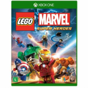LEGO MARVEL SUPER HEROES XBOX ONE USADO