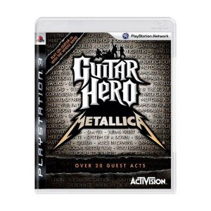 GUITAR HERO METALLICA PS3 USADO