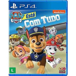 A PATRULHA CANINA TA COM TUDO PS4