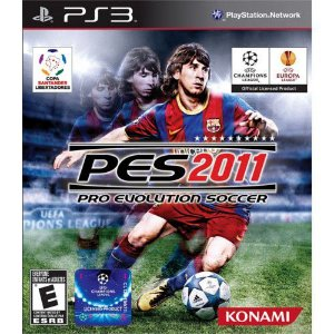 PES 2011 PS3 USADO