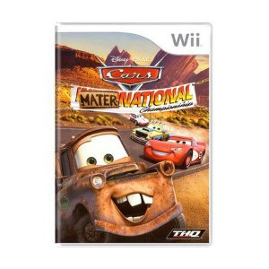 CARS MATER NATIONAL CHAMPIONSHIP WII USADO