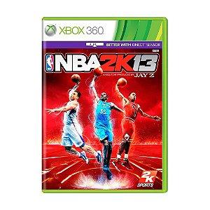 NBA 2K13 X360 USADO