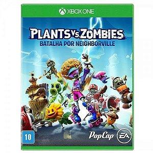 PLANTS VS ZOMBIES: BATALHA POR NEIGHBORVILLE XBOX ONE USADO