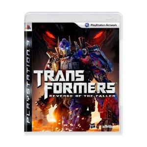 TRANSFORMERS REVENGE OF THE FALLEN PS3 USADO
