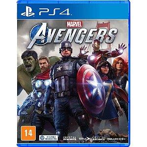 MARVEL AVENGERS PS4 USADO