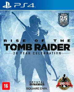 RISE OF TOMB RAIDER PS4 USADO