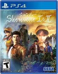 SHENMUE 1 & 2 HD PS4 USADO