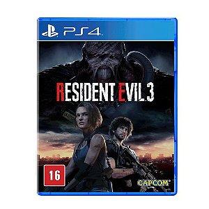 RESIDENT EVIL 3 PS4 USADO
