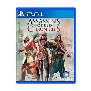 ASSASSINS CREED CHRONICLES PS4 USADO