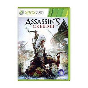 ASSASSINS CREED 3 XBOX 360 USADO