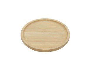 Bandeja / Petisqueira Bamboo Redonda 14 cm