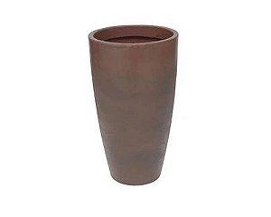 Vaso Malta Cone Polietileno 38x55 cm