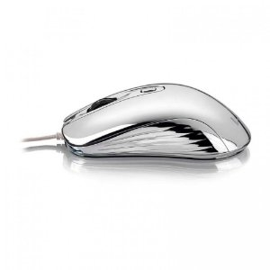 Mouse Gamer Chrome Warrior Usb 1600Dpi Multilaser MO228