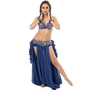 [Encomenda 45 Dias] Traje Arabesco Plus Size Dança do Ventre