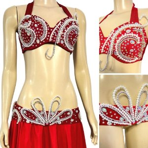 [Encomenda 45 Dias] Traje Plus Size Luxo Dança do Ventre