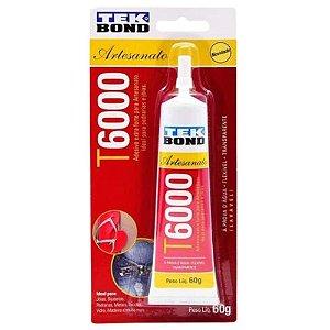 Cola Para Pedrarias T6000 60G Tekbond Ideal para Roupas de Dança do Ventre