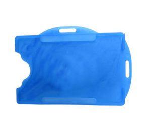 Protetor para Crachá Azul Royal Pacote com 50 Unidades
