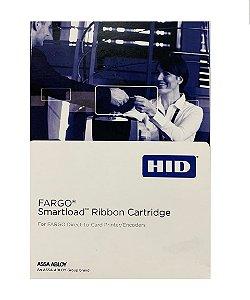 Ribbon Color Fargo 45029 Meio Painel YMCKO Dtc1000/Dtc1250 350 Impressões
