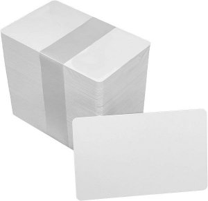 Cartão Pvc Premium TPC Pacote com 100 Cartões 54x86mm 0,76mm
